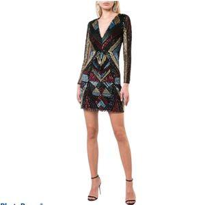 NWT Sequin dress cocktail dress mini dress